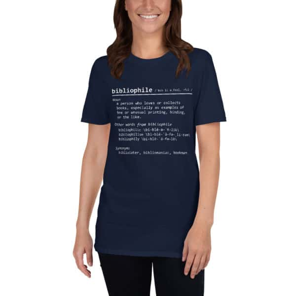 Bibliophile - Born to read - Short-Sleeve Unisex T-Shirt