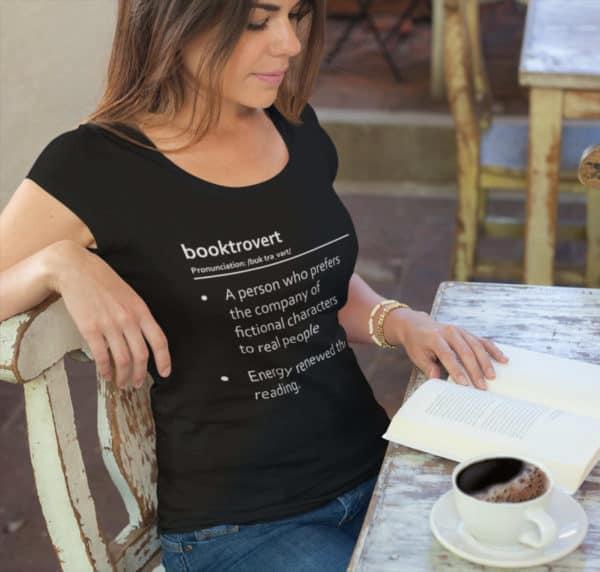 Booktrovert - Energy renewed through reading - Short-Sleeve Unisex T-Shirt